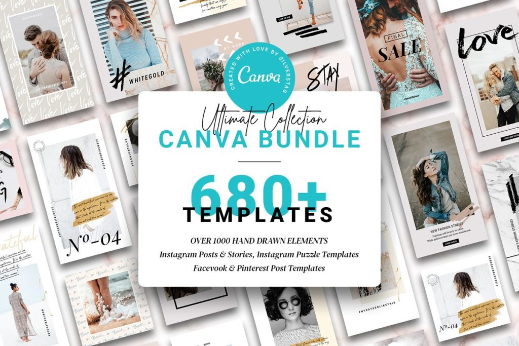 CANVA Social Bundle + FREE Updates