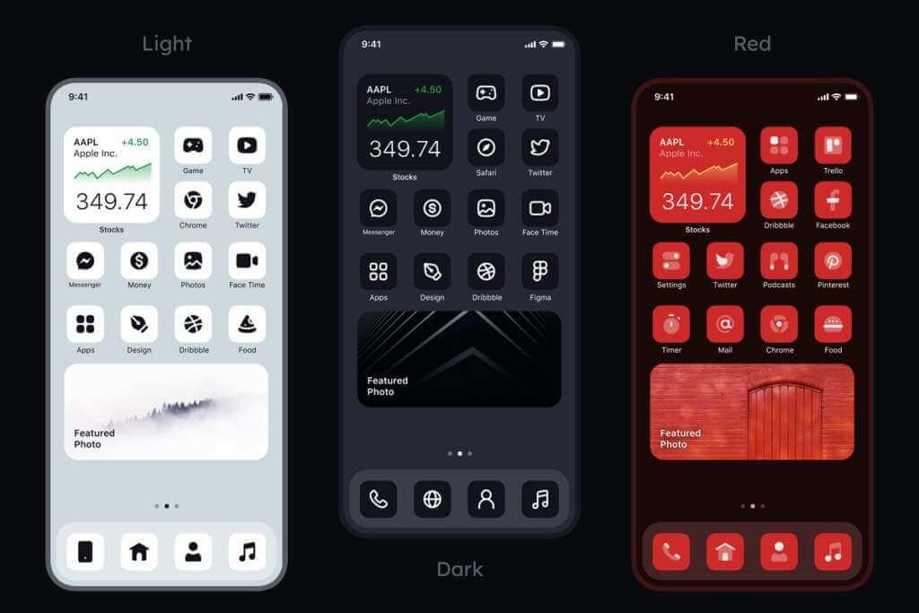 iOS 14 Universal Icons