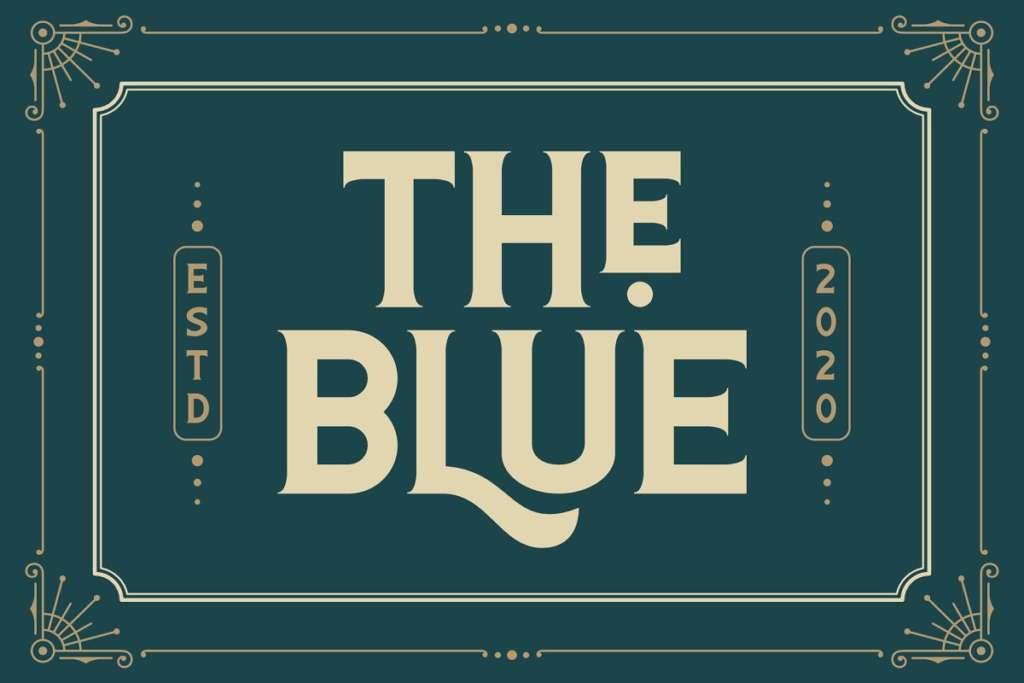 The Blue Font