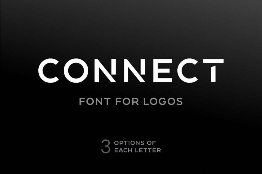 Connect - Font For Logos