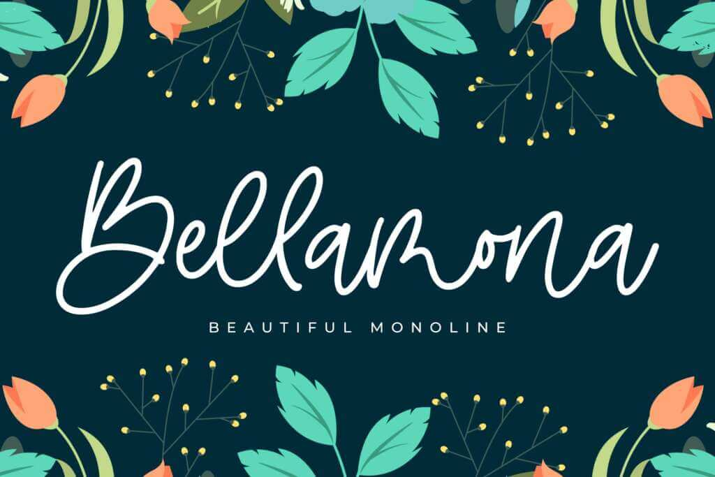 Bellamona - Beautiful Monoline