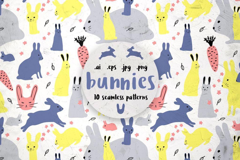 BUNNIES, 10 patterns