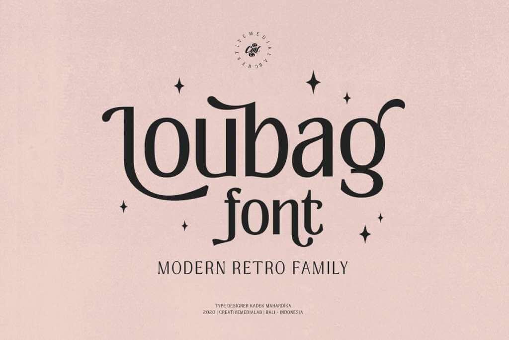 Loubag - Modern Retro family