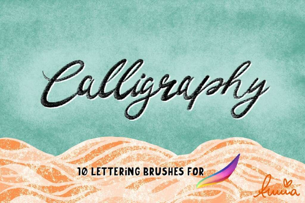 10 Lettering Brushes for Procreate