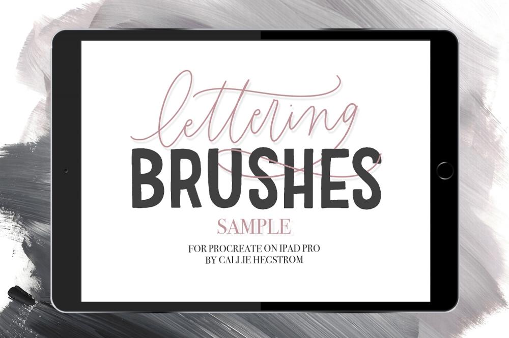Free: 12 iPad Brushes For Procreate Sample