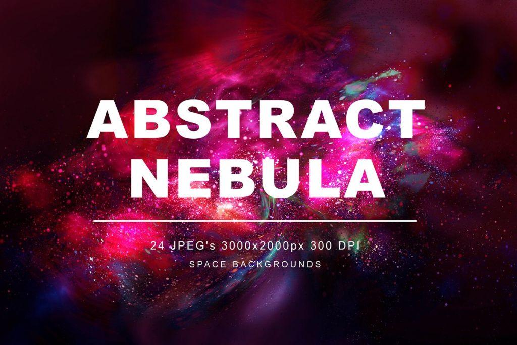 Abstract Nebula Backgrounds