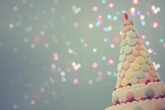 円錐のケーキ