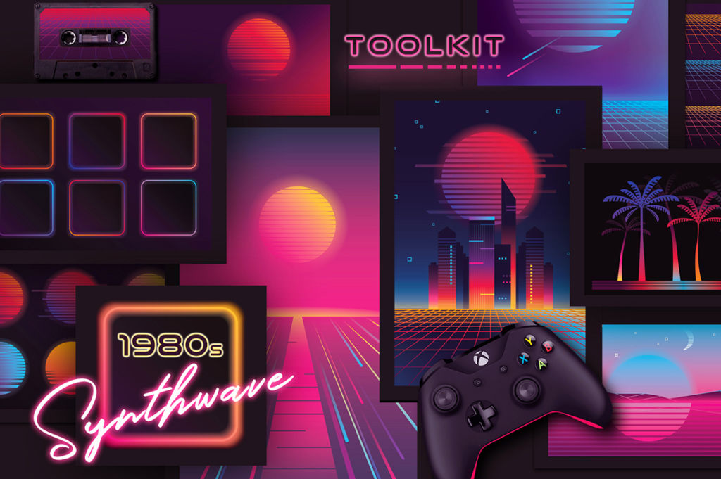 1980S SYNTHWAVE TOOLKIT