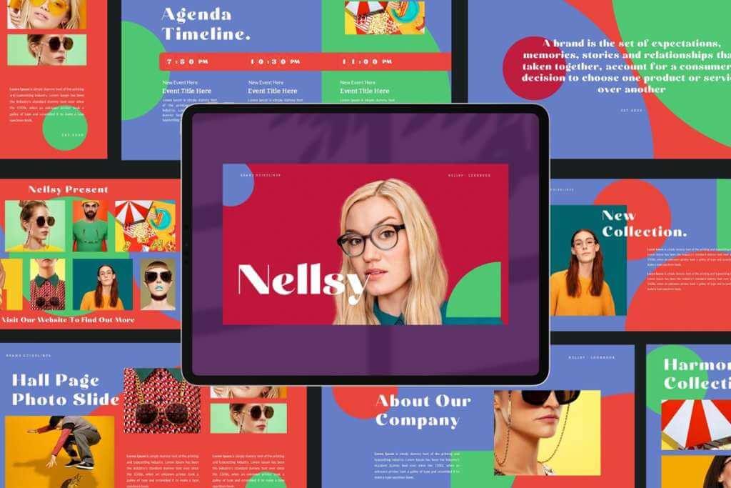 Nellsy Googleslide Template