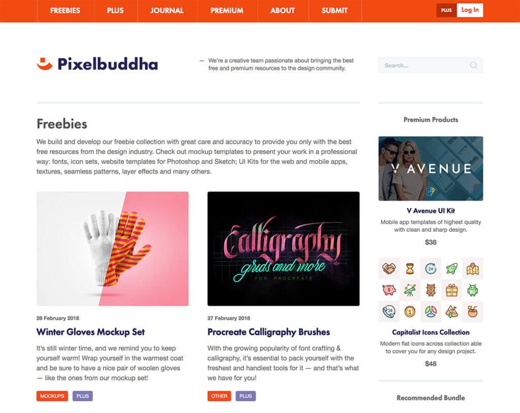 Pixelbuddhaのホーム画面