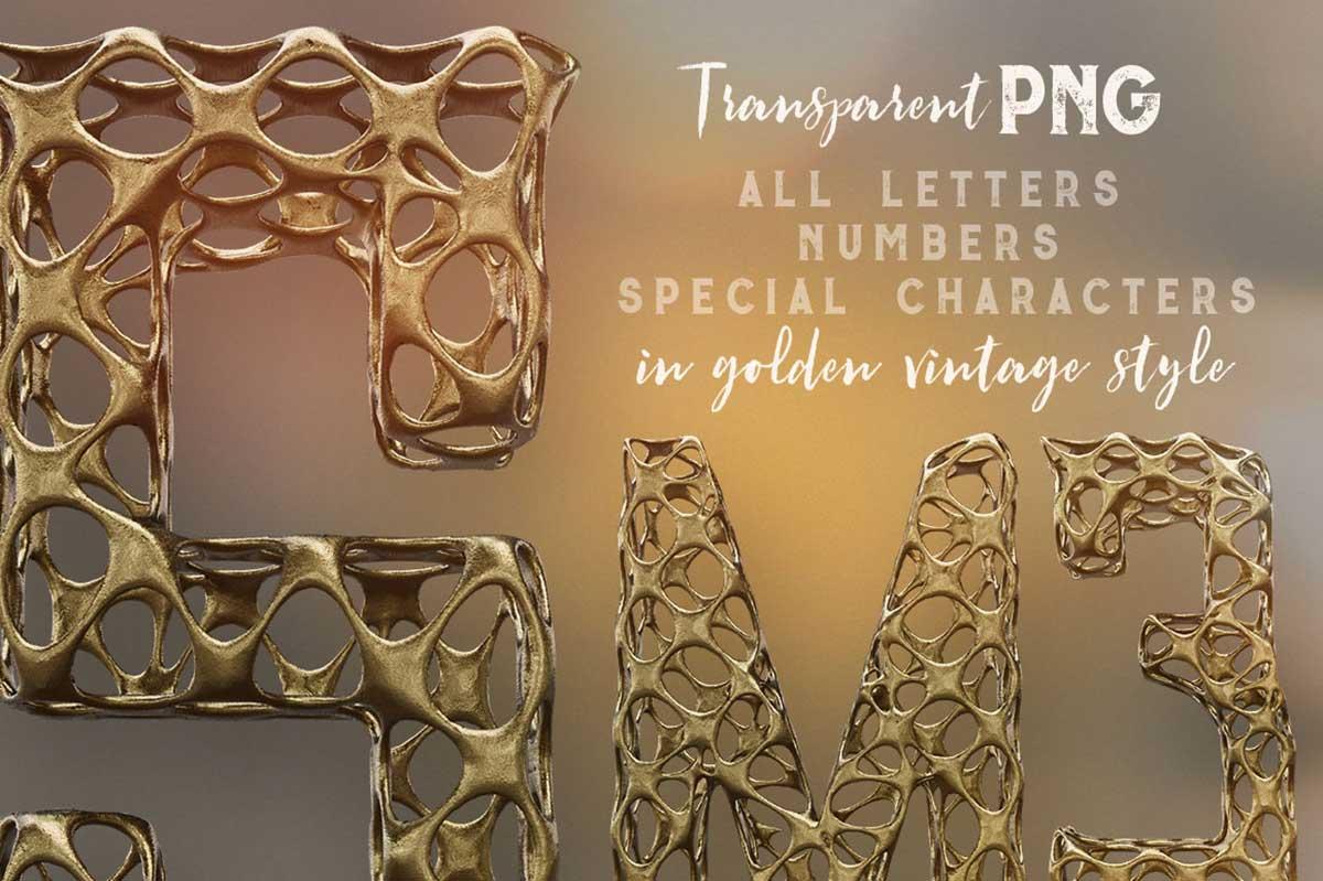 Golden Age 3D Lettering