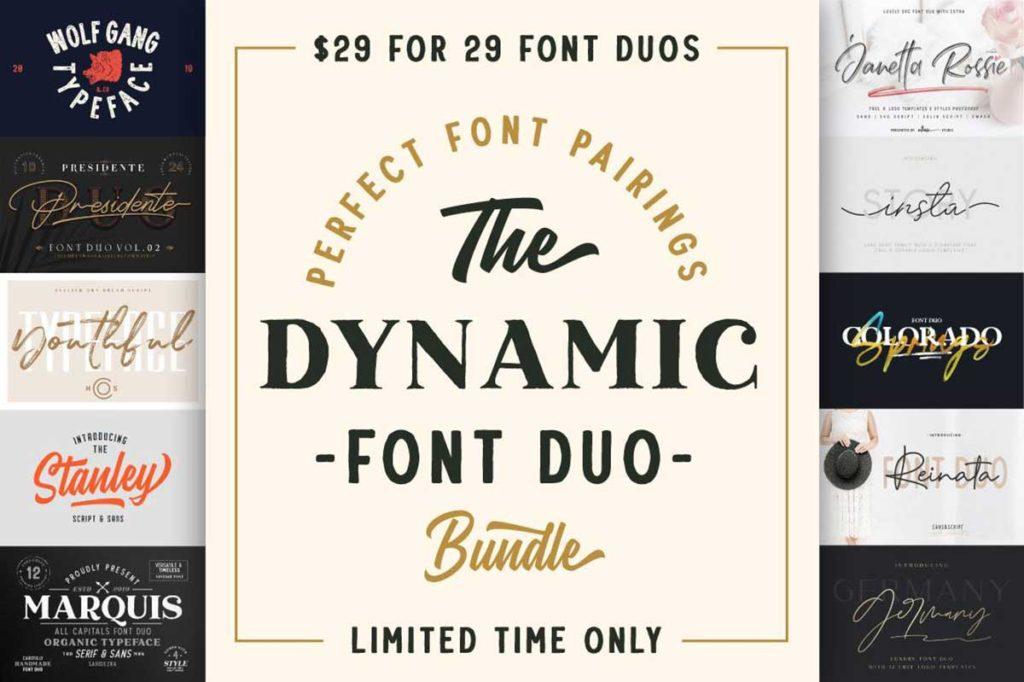 The Dynamic Font Duo Bundle