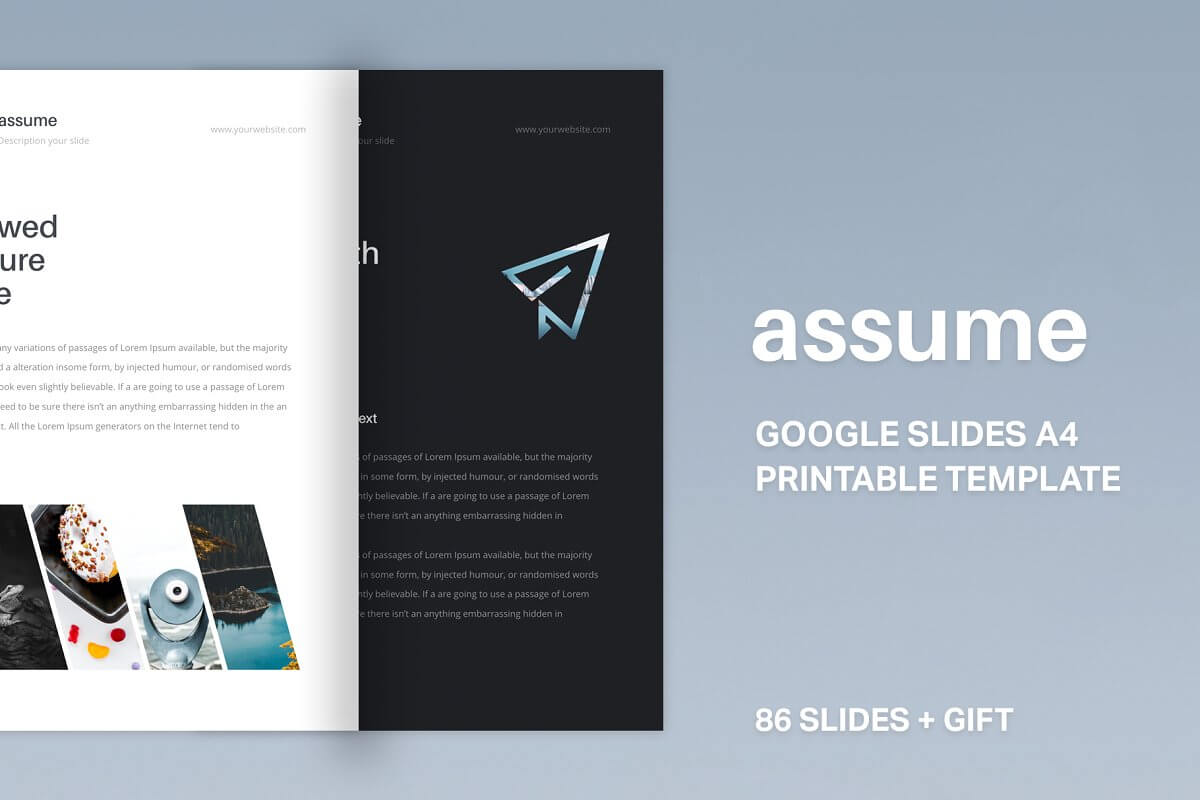 A4 | Assume Google Slides Template