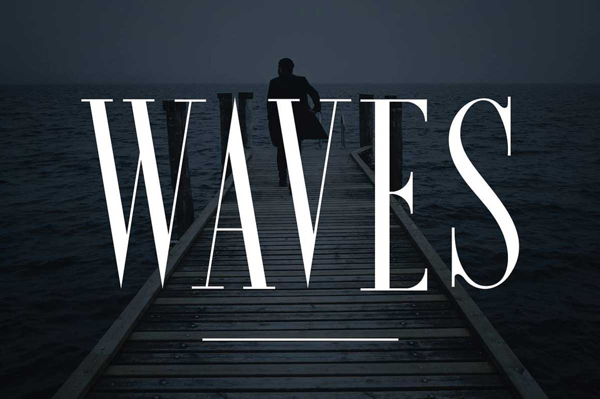 Waves - Font Forestry