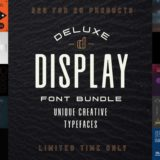 The Deluxe Display Font Bundle