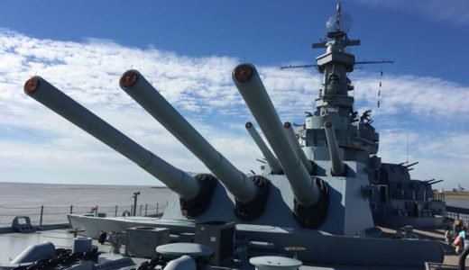 本物の戦艦や潜水艦に入れるBattleship USS ALABAMAレビュー【アメリカ・アラバマ州】