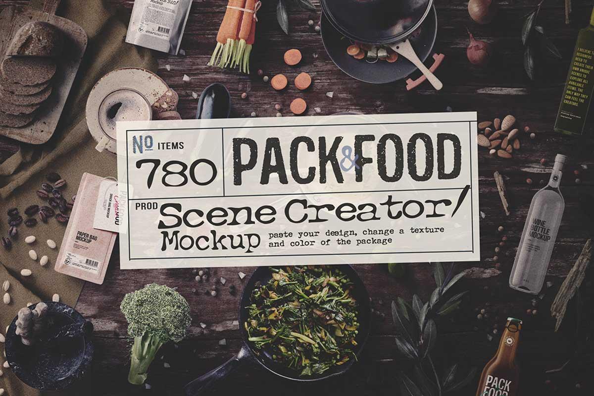 PACK & FOOD CREATOR – TOPVIEW