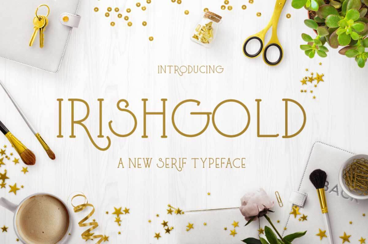 Irishgold by Heroglyphs Studio