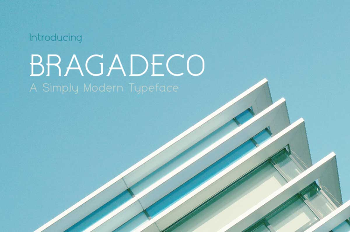 Bragadeco by Fontdation Studio