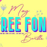 The May Free Font Bundle 2019