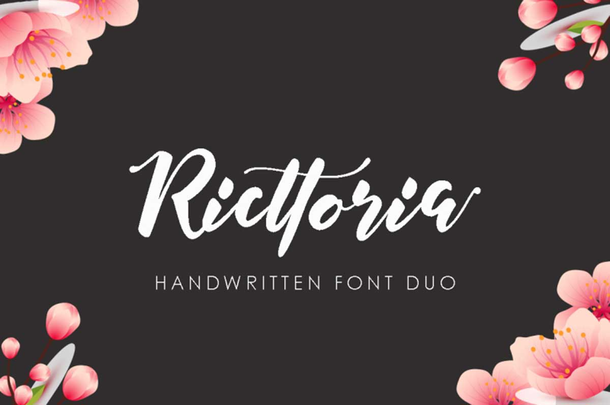 Ricttoria Font Duo by MissinkLab Studio