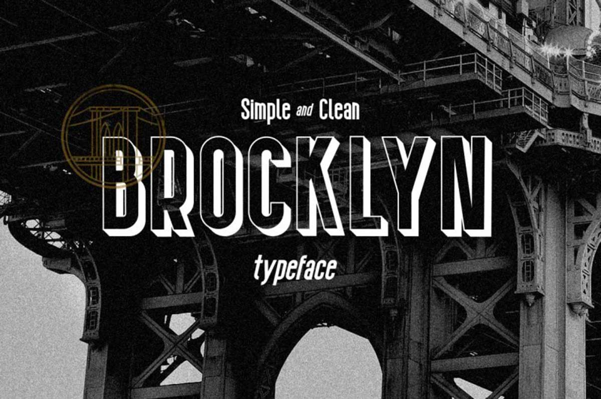 Brocklyn by Fontdation Studio