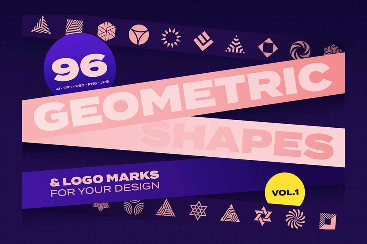 GEOMETRIC SHAPES & LOGO MARKS VOL. 1