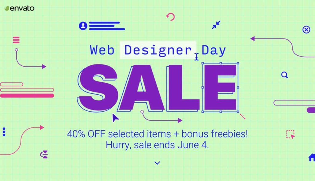 Web Designer Day Sale