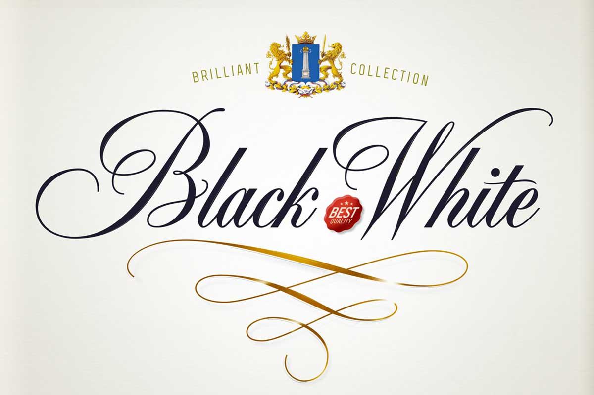BLACK & WHITE SCRIPT