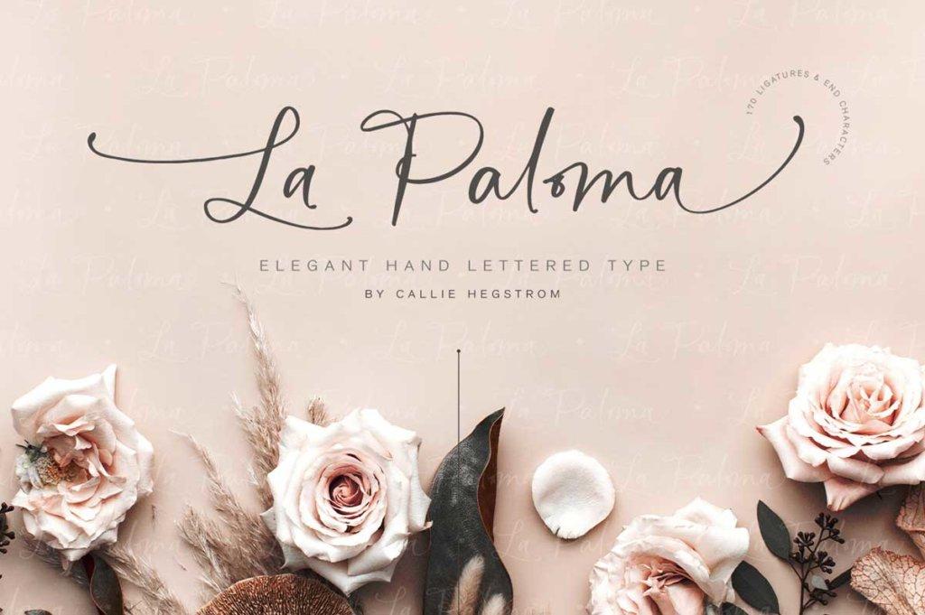 LA PALOMA SCRIPT AND CATCHWORDS