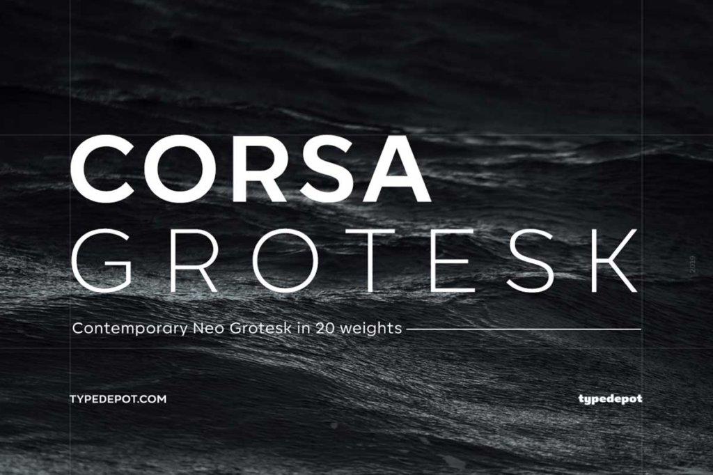 CORSA GROTESK