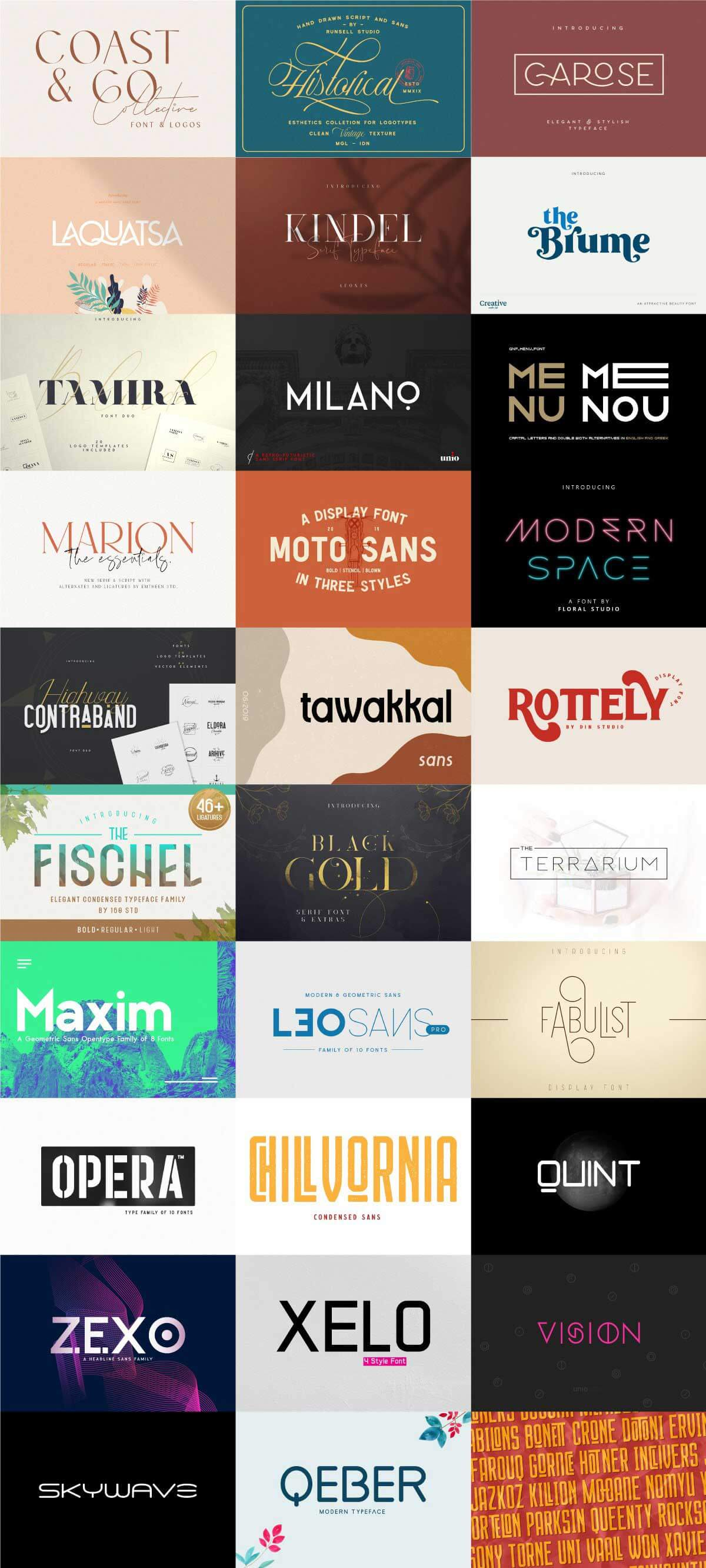 The Branding Font Bundle