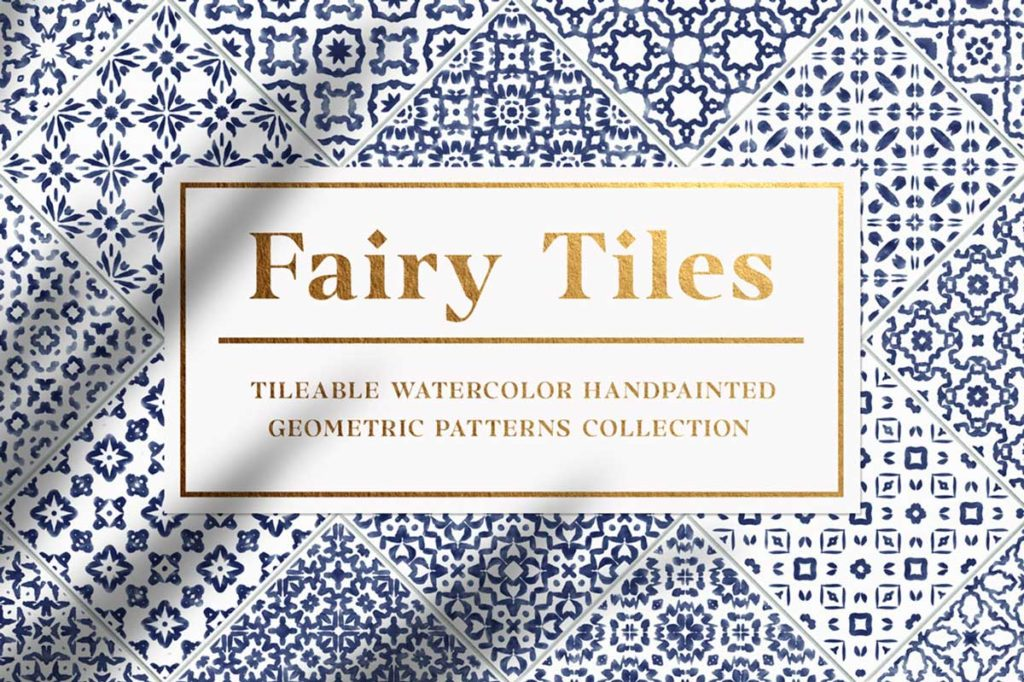 FAIRY TILES – GEOMETRIC PATTERNS COLLECTION