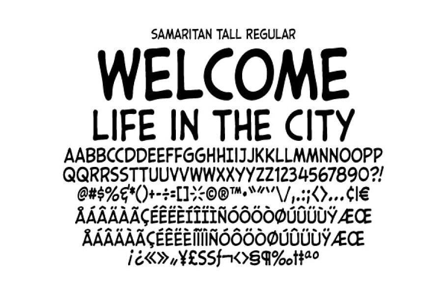 Samaritan Tall