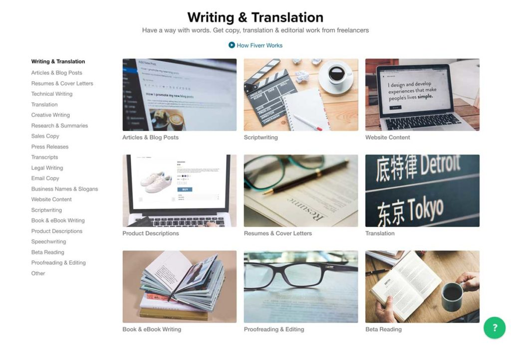 Writing & Translation