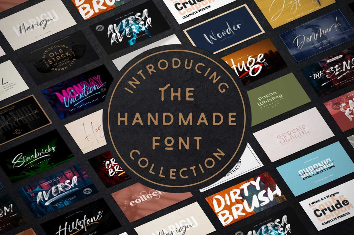 The Handmade Font Collection