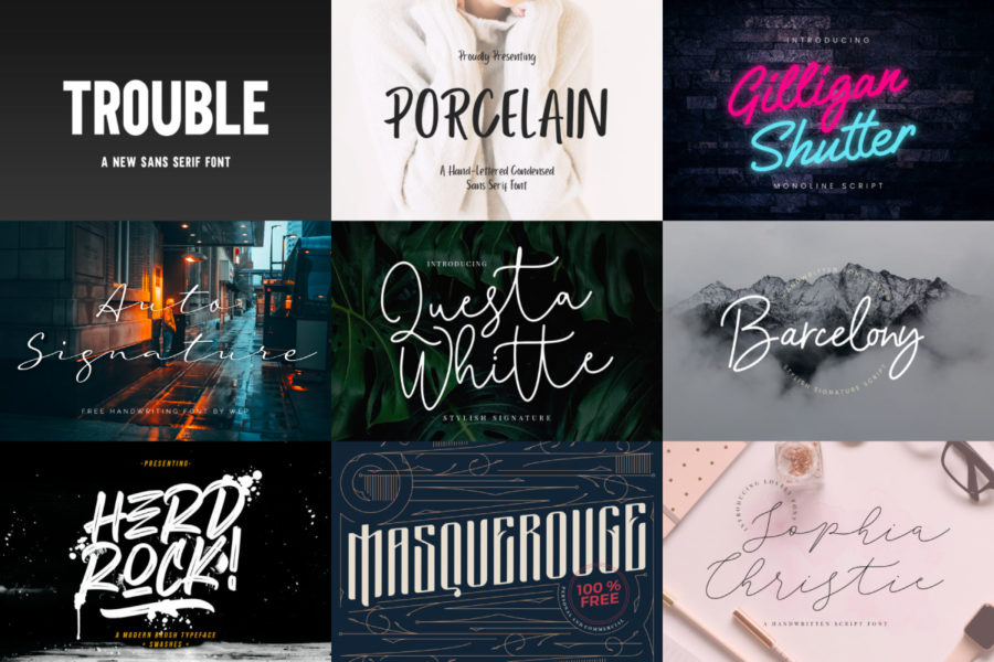 Stunning Free Fonts for Font Lovers