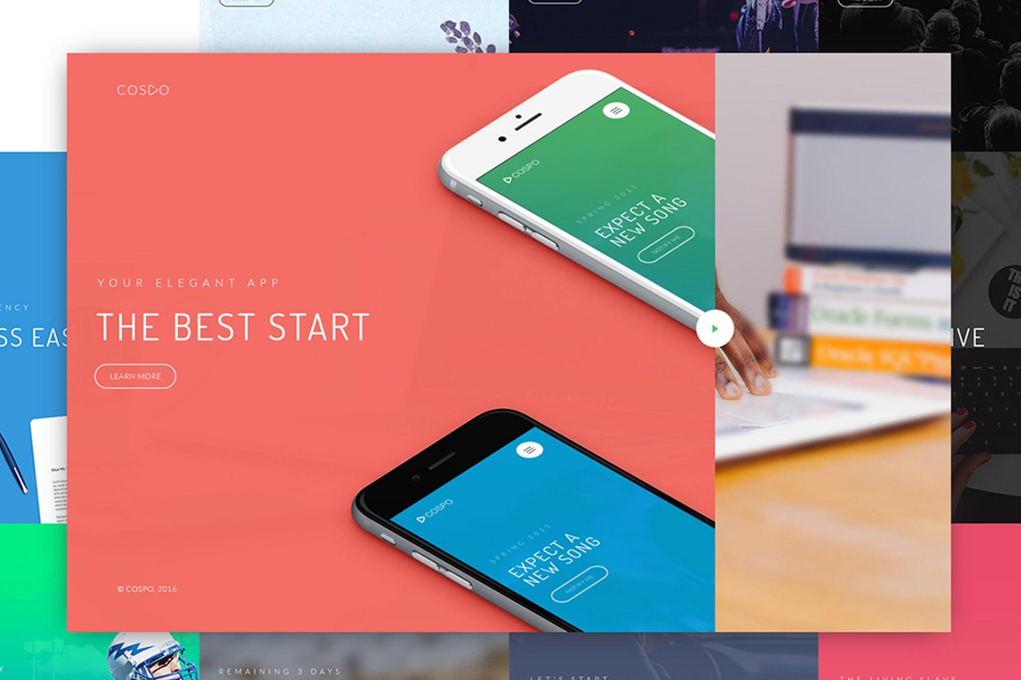 Cospo — Creative HTML Template