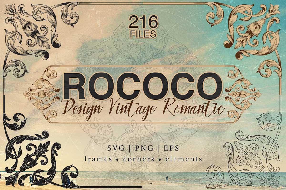ROCOCO ROMANCE ORNAMENTS