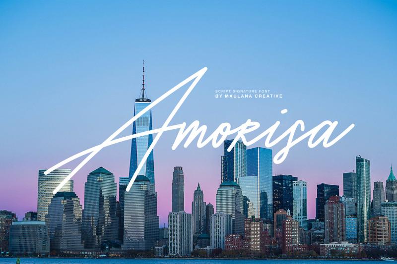 FREE Amorisa Font