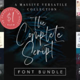 The Complete Script Font Bundle