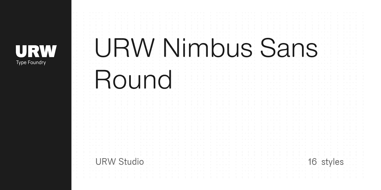 NIMBUS SANS ROUND
