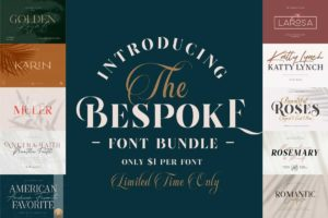 The Bespoke Font Collection