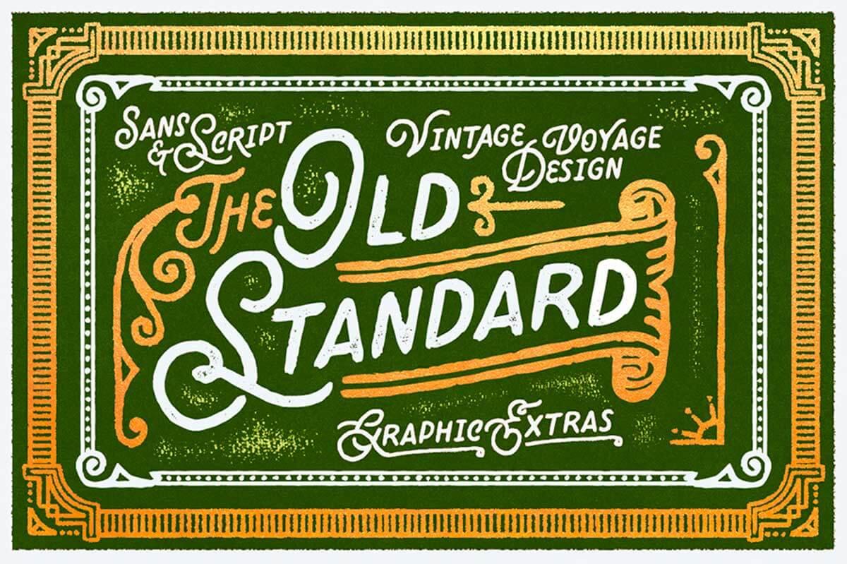 Old Standard Sans Script