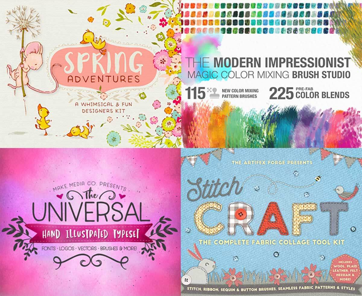 The Extensive Hand-Crafted Design Bundle (Rerun)