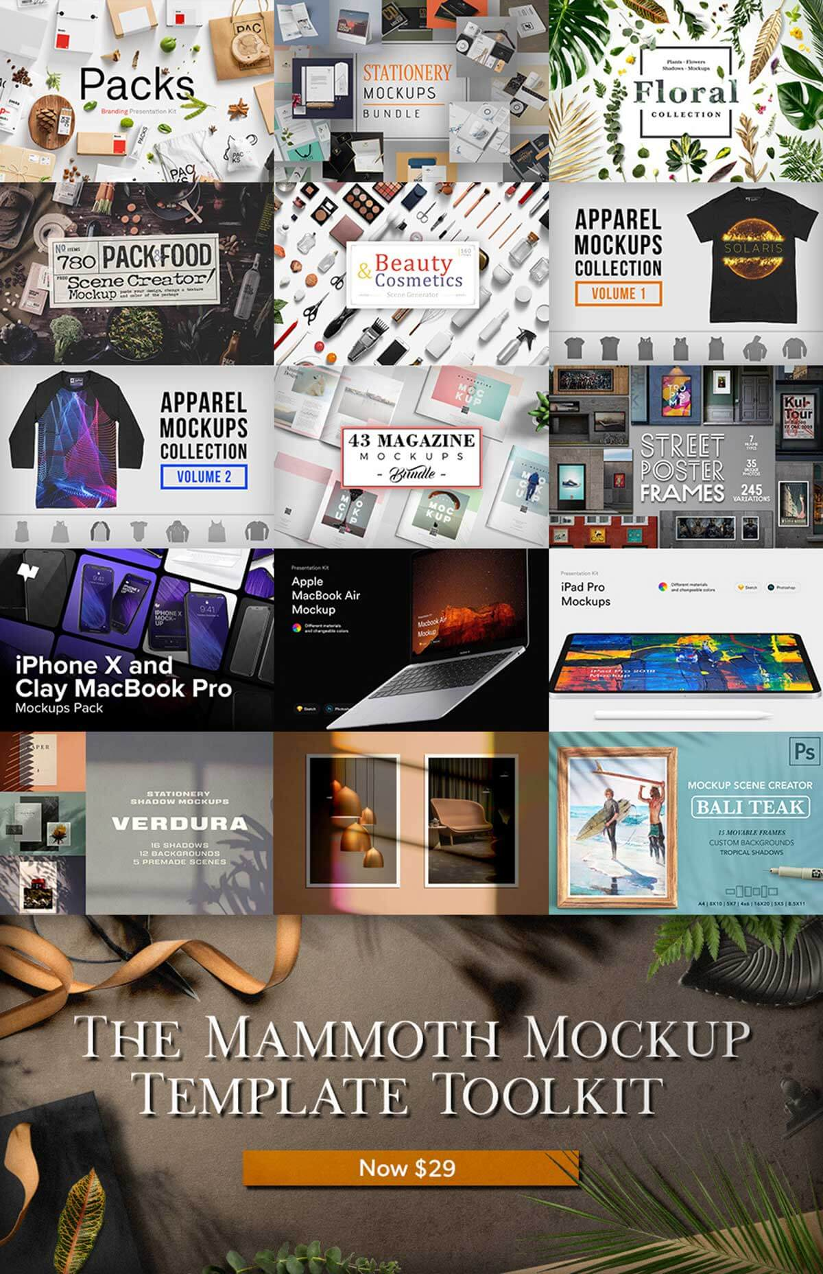 The Mammoth Mockup Template Toolkit (Rerun)