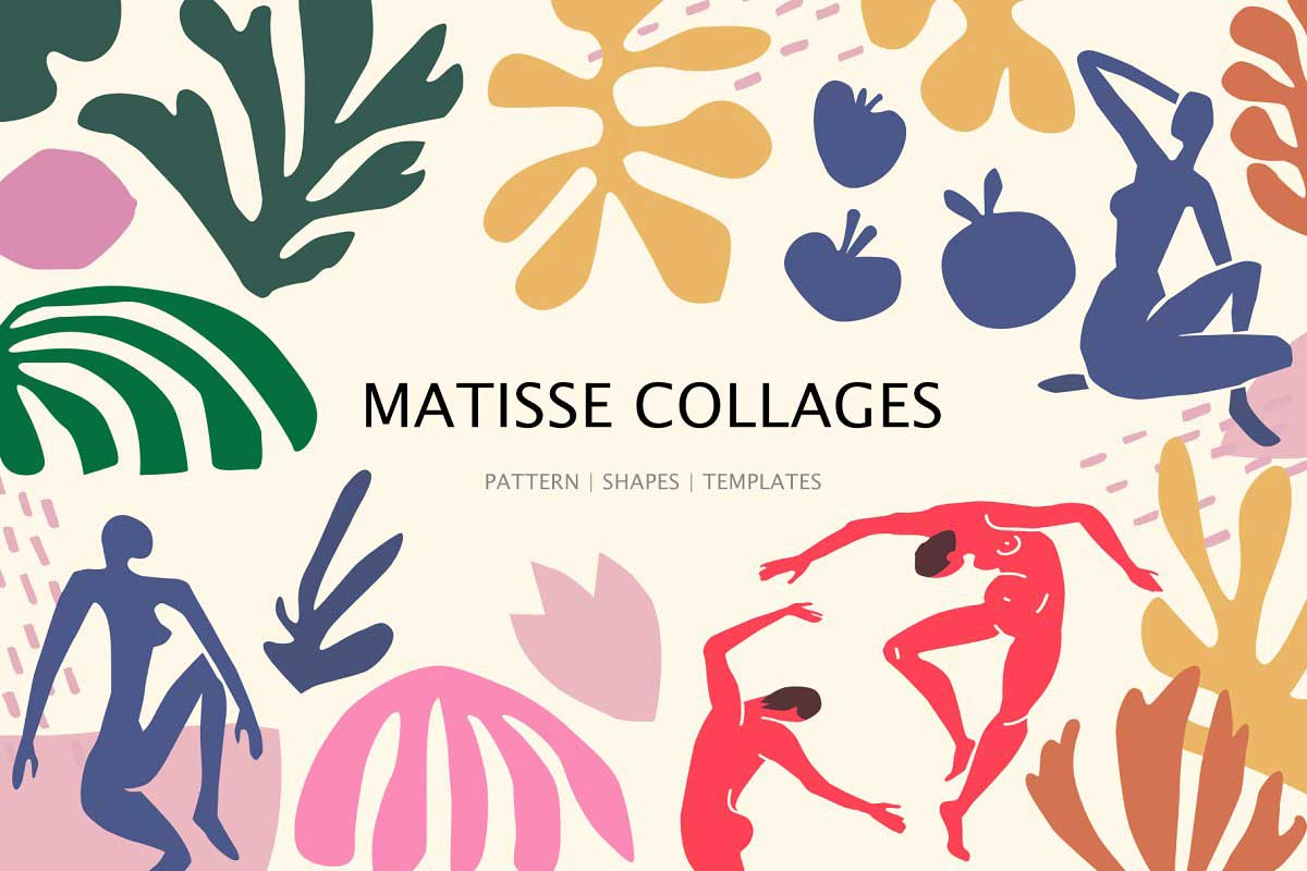 Matisse collages art