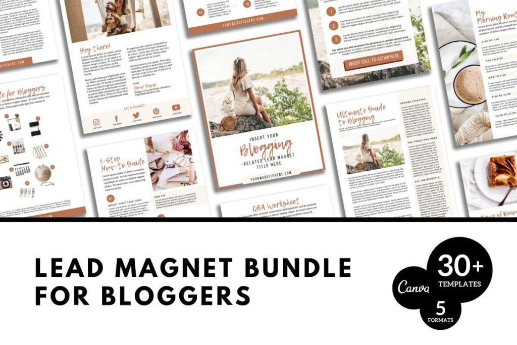 Lead Magnet Template for Bloggers
