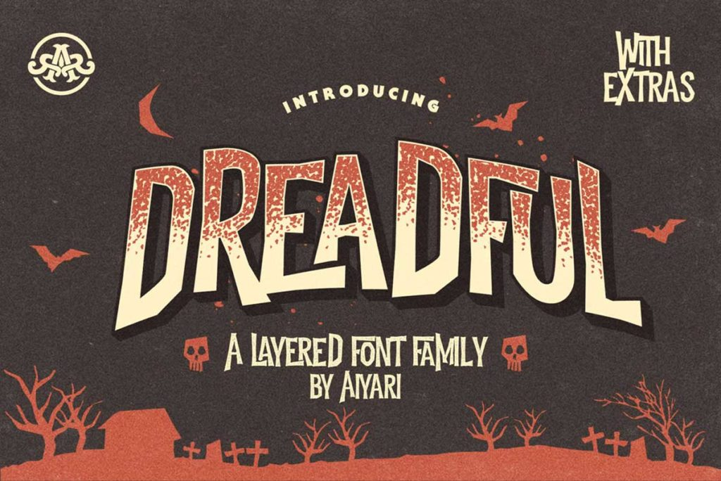 Dreadful – A Spooky Typeface