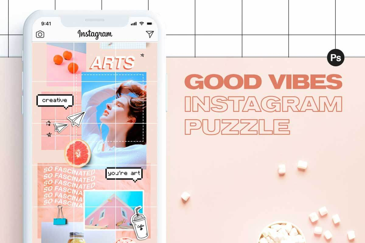 Instagram Puzzle – Good Vibes